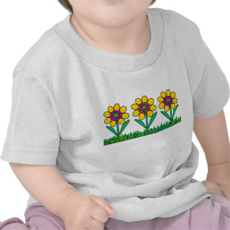 PEACE DAISIES IN CANDYLAND SHIRT