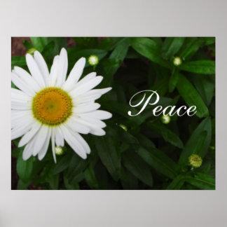 Peace Daisy Print