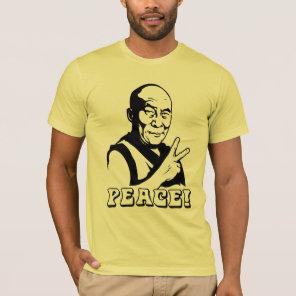 PEACE! Dalai Lama t-shirt