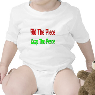 Peace day baby t-shirt