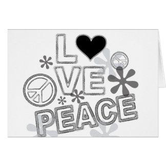 peace design card
