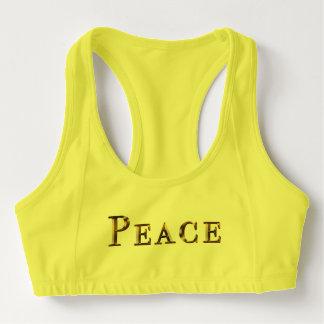 peace Design Custom Women's Alo Sports Bra