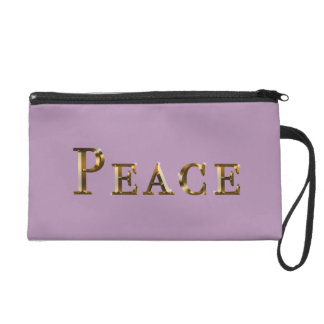 Peace Design Wristlet