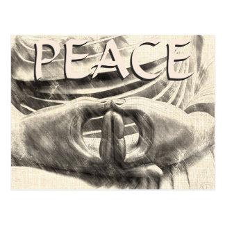 Peace Dhyana Mudra Postcard