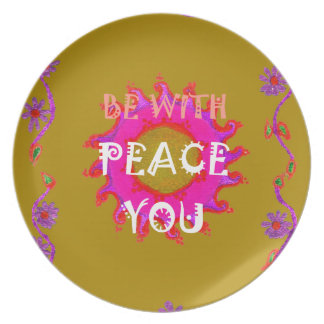 Peace Dinner Plate
