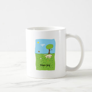 Peace Dog - Paw of Attraction Mugs