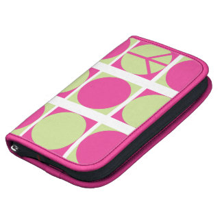 Peace Dots Pink/Green Planners