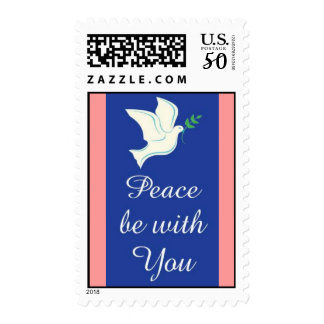 Peace Dove and Message Postage