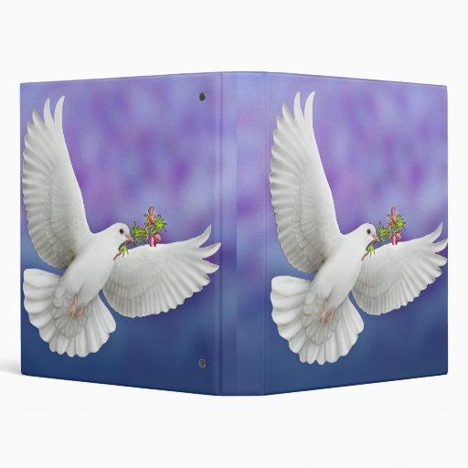 Peace Dove Avery Binder