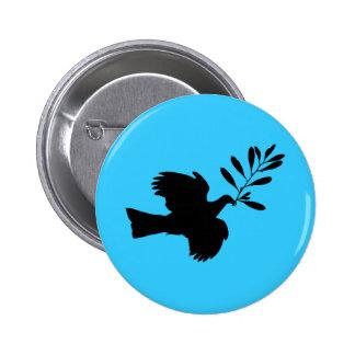 Peace Dove 2 Inch Round Button