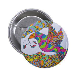 Peace Dove Pinback Buttons