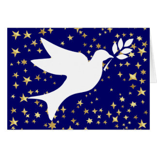 Peace Dove Greeting Card