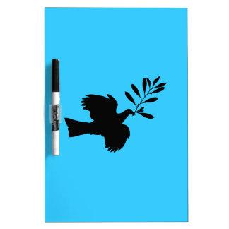 Peace Dove Dry-Erase Whiteboard