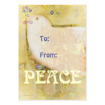 Peace Dove Gift Tags Business Card Templates