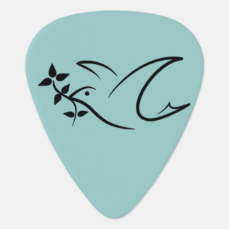 Peace Dove Guitar Pick