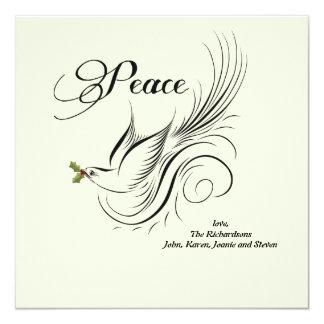 Peace Dove - Holiday Card