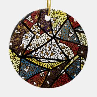 Peace Dove (Holy Spirit) Christmas Ornament Round