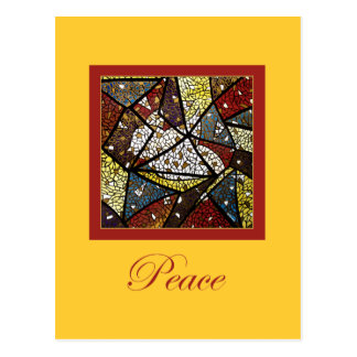 Peace Dove Holy Spirit Symbol Religious Christmas Postcard