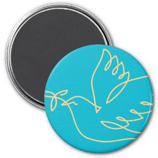 Peace Dove Icon Magnet