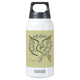 Peace Dove Insulated Water Bottle