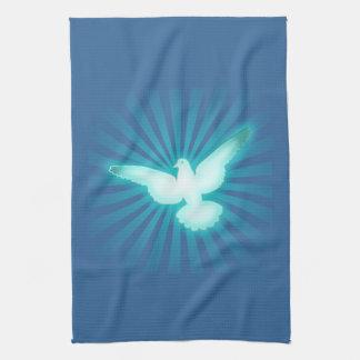 Peace dove kitchen towel