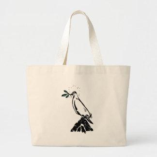 Peace Dove Large Tote Bag