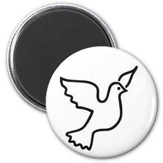 Peace Dove Magnet