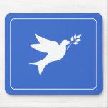 Peace Dove Mousepads
