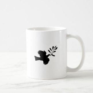Peace Dove Classic White Coffee Mug