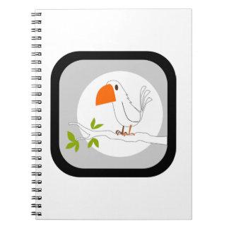 Peace Dove Notebook
