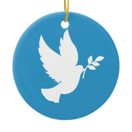 Peace Dove Ornament