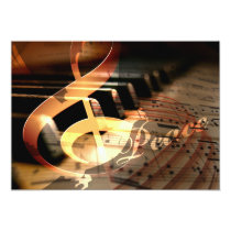 peace dove piano teacher holiday greeting Cards