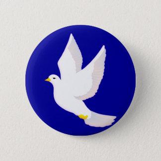 Peace Dove Pinback Button