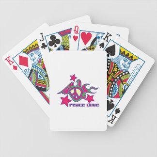 Peace Dove Poker Deck