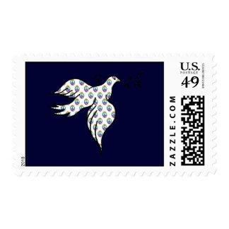 Peace Dove Postage Stamp