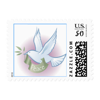 Peace Dove Postage Stamp