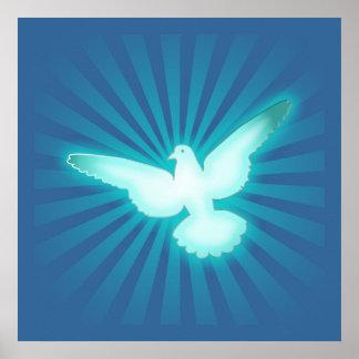 Peace dove print