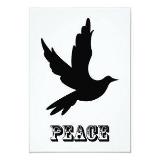 Peace Dove RSVP Card