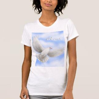 Peace Dove Scoop Neck T-Shirt