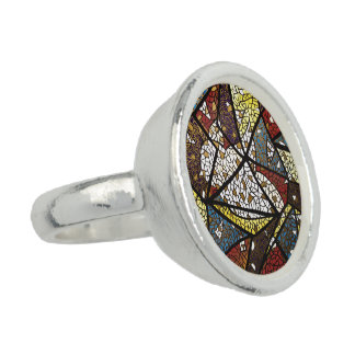 Peace Dove Symbol Of The Holy Spirit Religious Photo Ring
