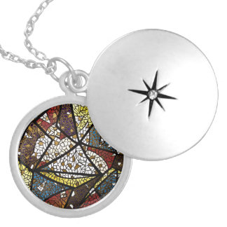 Peace Dove Symbol Of The Holy Spirit Religious Round Locket Necklace
