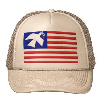 Peace Dove U.S. Flag Hat