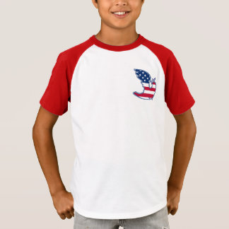 Peace Dove. USA Patriotic design T-Shirts