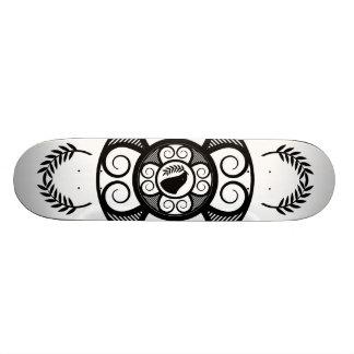 Peace Dove White Skate Board Deck