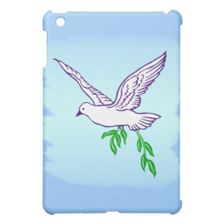 Peace Dove with Olive Branch  Cover For The iPad Mini
