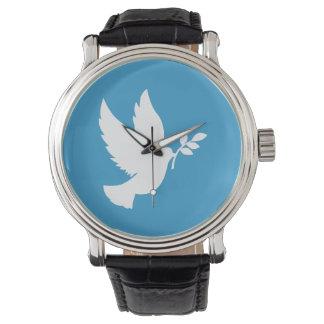 Peace Dove Wrist Watch
