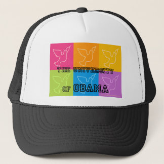 Peace Doves from The University of Obama Trucker Hat