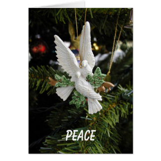 Peace Doves Holiday Card