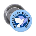 Peace Doves Pinback Buttons
