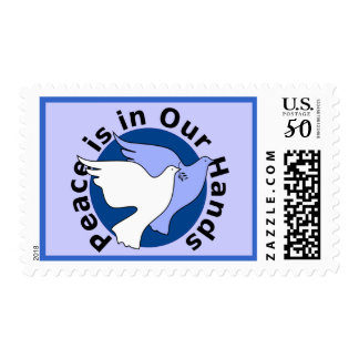 Peace Doves postage stamp